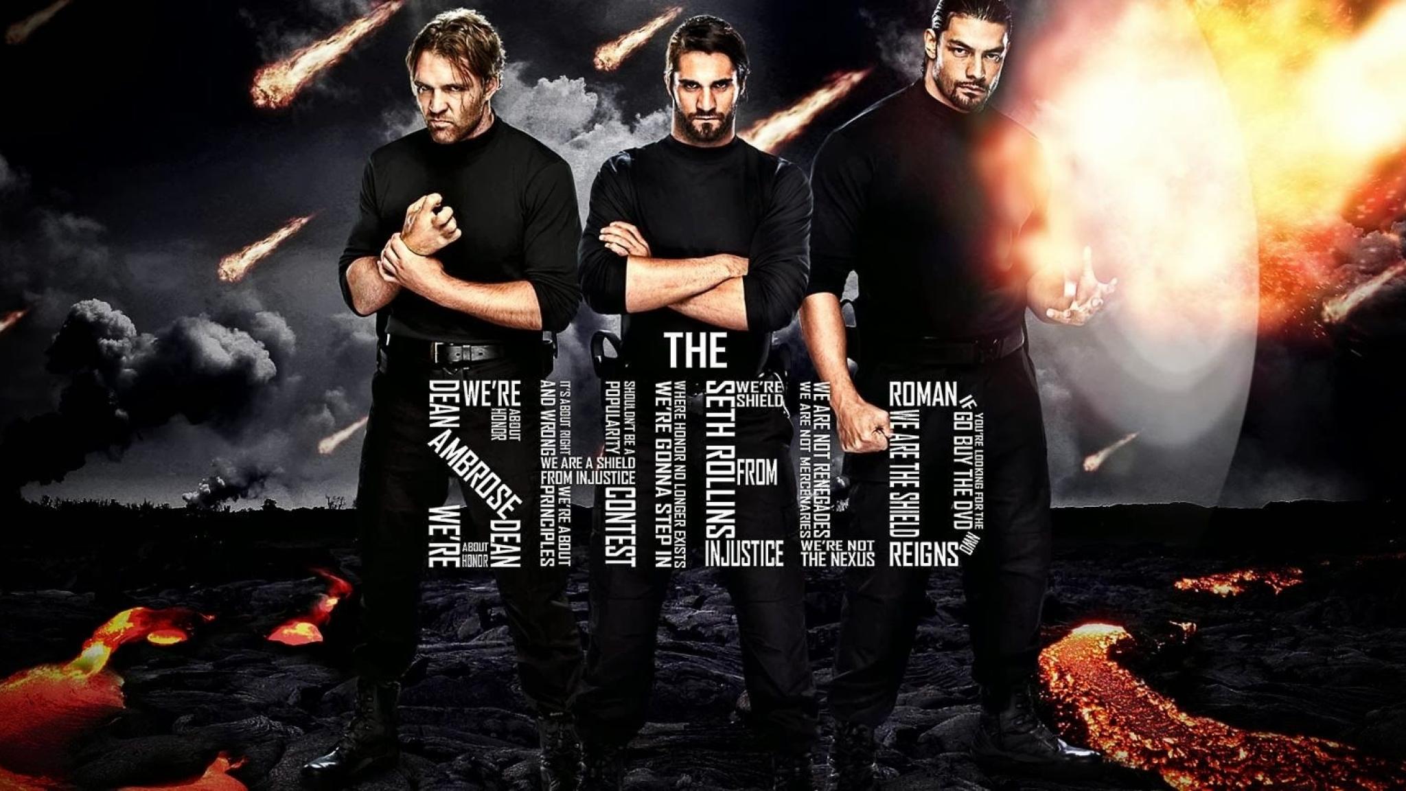 Wwe The Shield Hd Wallpaper