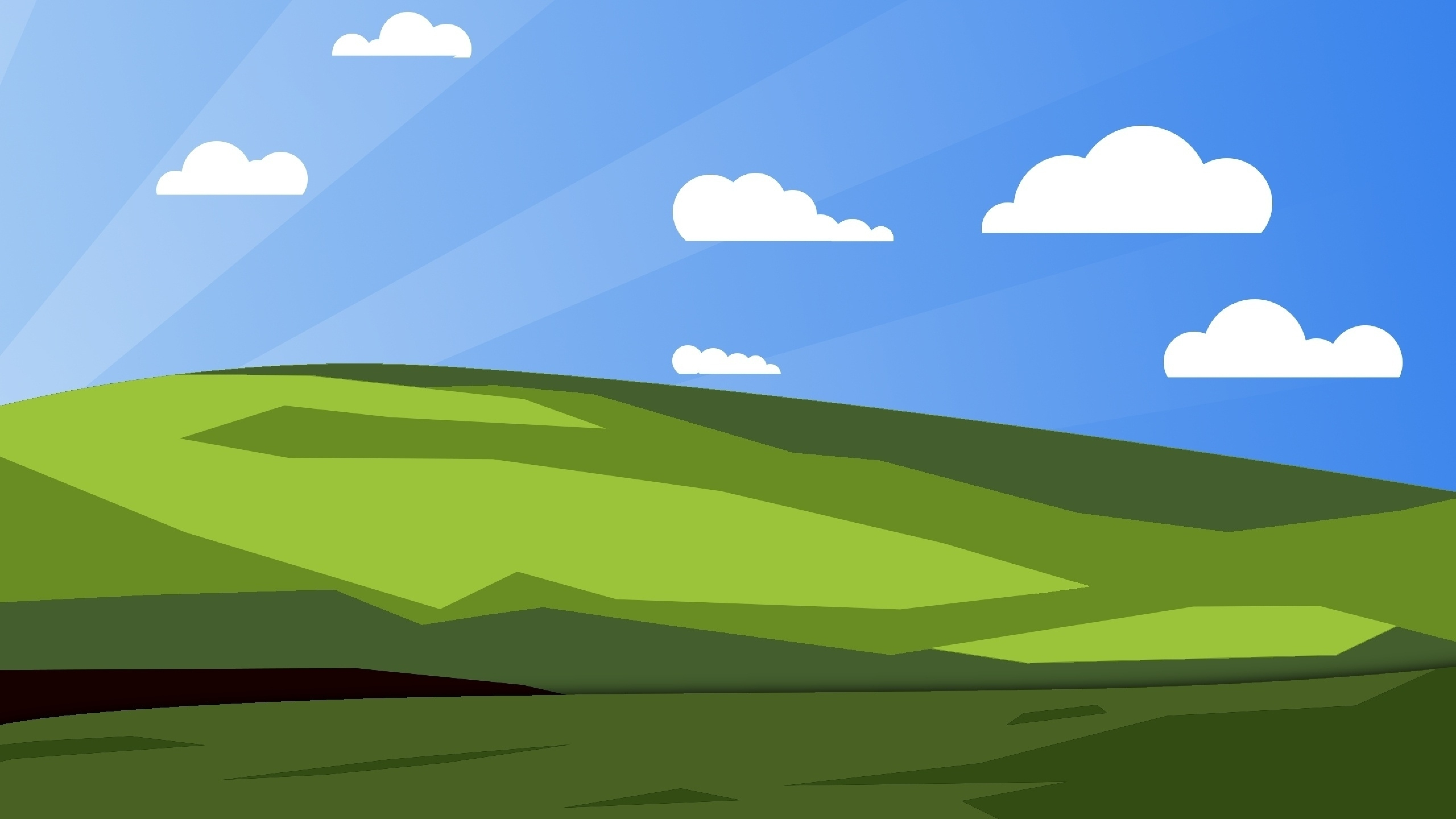 Xp, Windows, Vector, Full HD 2K Wallpaper