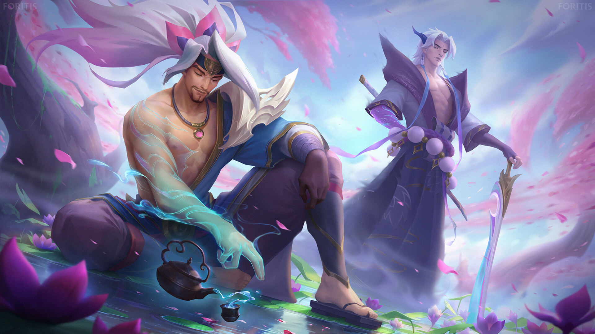 640x960 Yasuo And Yone League Of Legends Iphone 4 Iphone 4s Wallpaper Hd Games 4k Wallpapers Images Photos And Background