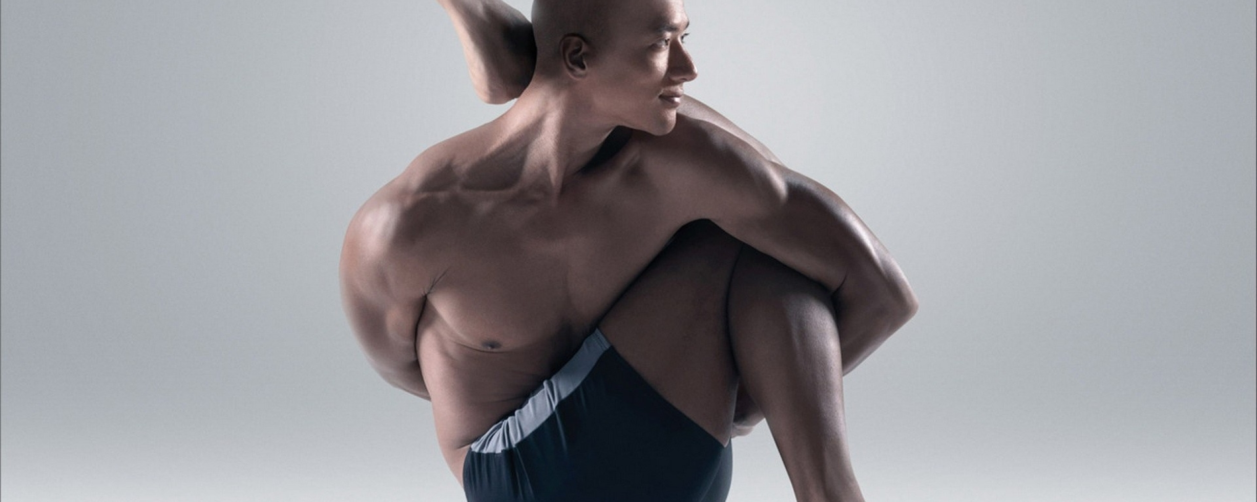 Yoga, Twisting, Man, Full HD Wallpaper  Yoga, Twisting,...