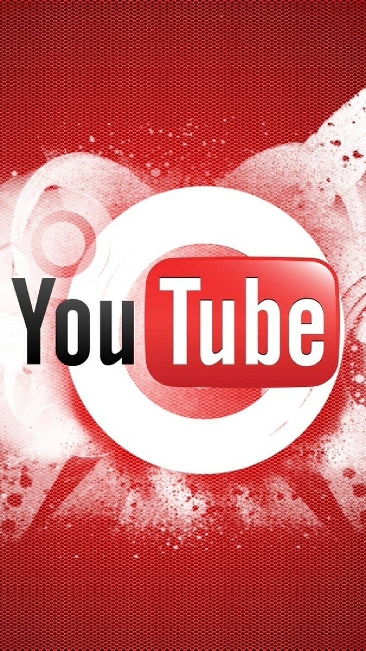 Youtube Logo Makeup: 1440x2560 Youtube, Video Hosting, Logo Samsung Galaxy S6