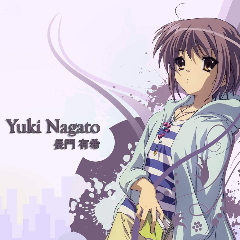 1224x1224 Yuki Nagato Girl Look 1224x1224 Resolution Wallpaper
