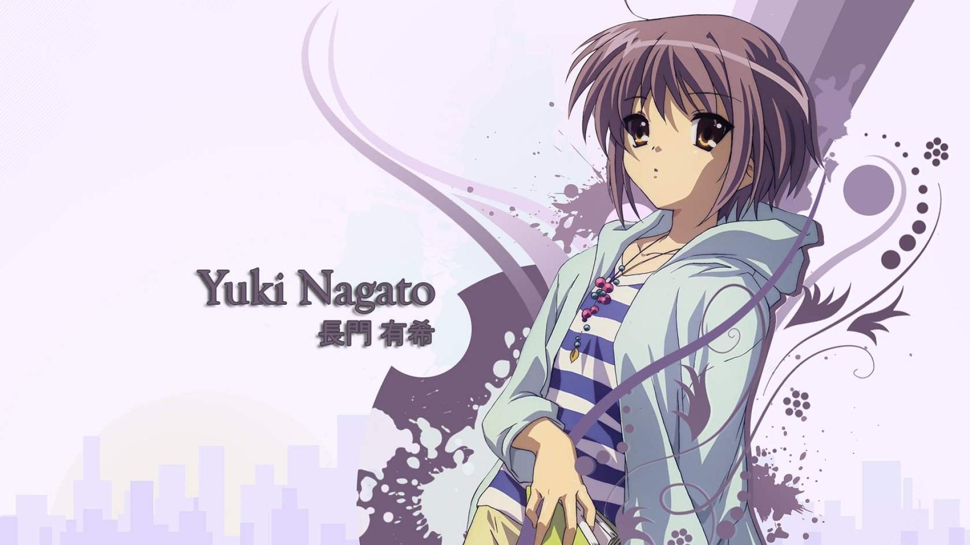 1920x1080 Yuki Nagato Girl Look 1080p Laptop Full Hd Wallpaper