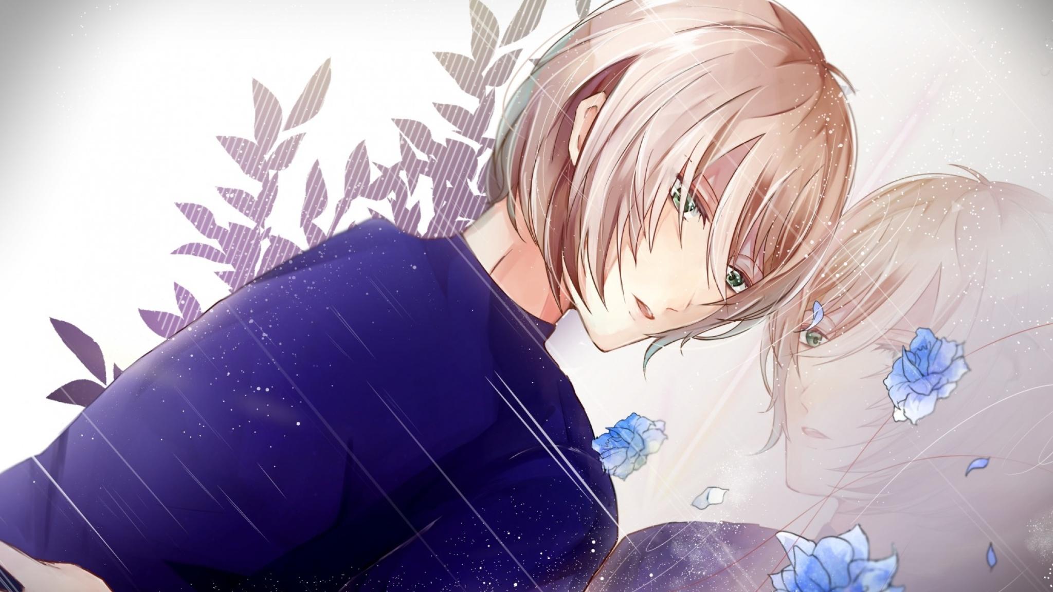 2048x1152 Yuri On Ice Yuri Plisetsky Art 2048x1152 Resolution