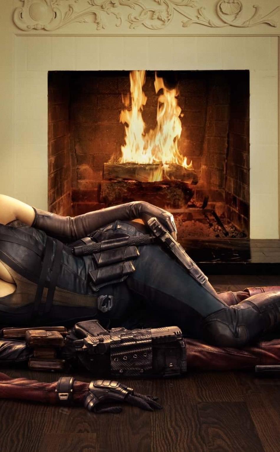 Zazie Beetz As Domino In Deadpool 2 Full Hd 2k Wallpaper