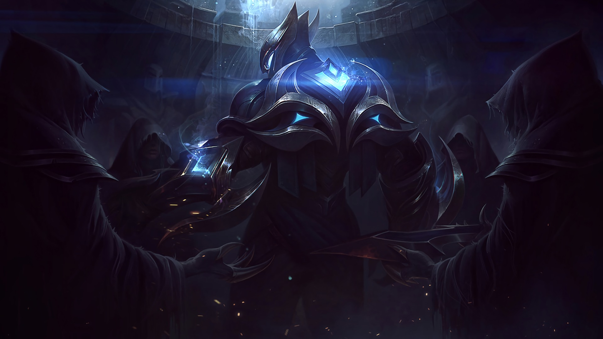 2048x1152 Zed Lol Championship 2048x1152 Resolution Wallpaper Hd Games 4k Wallpapers Images Photos And Background