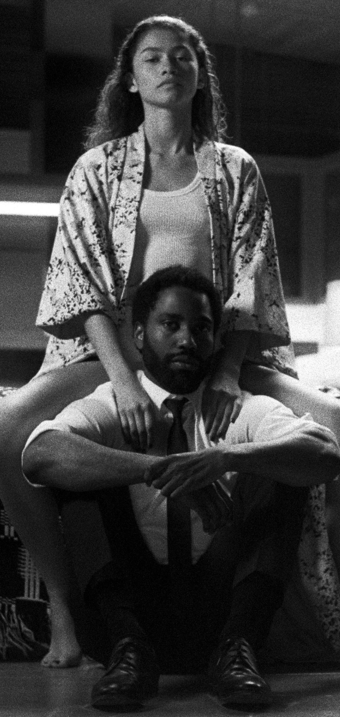 Zendaya & John Washington from Malcolm & Marie Wallpaper in 1080x2280 Resolution