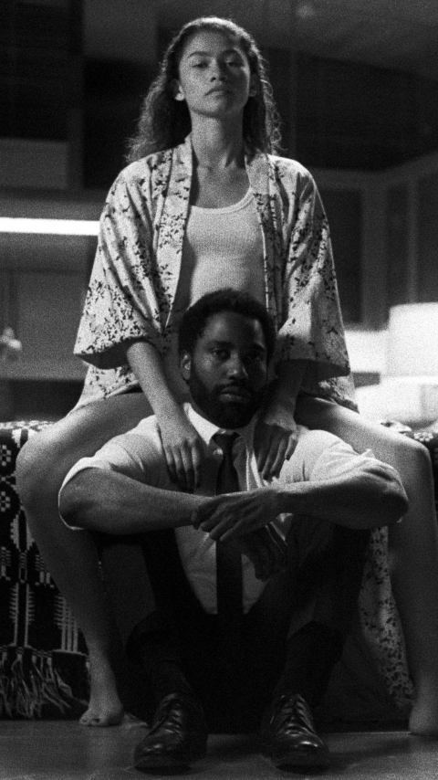 Zendaya & John Washington from Malcolm & Marie Wallpaper in 480x854 Resolution