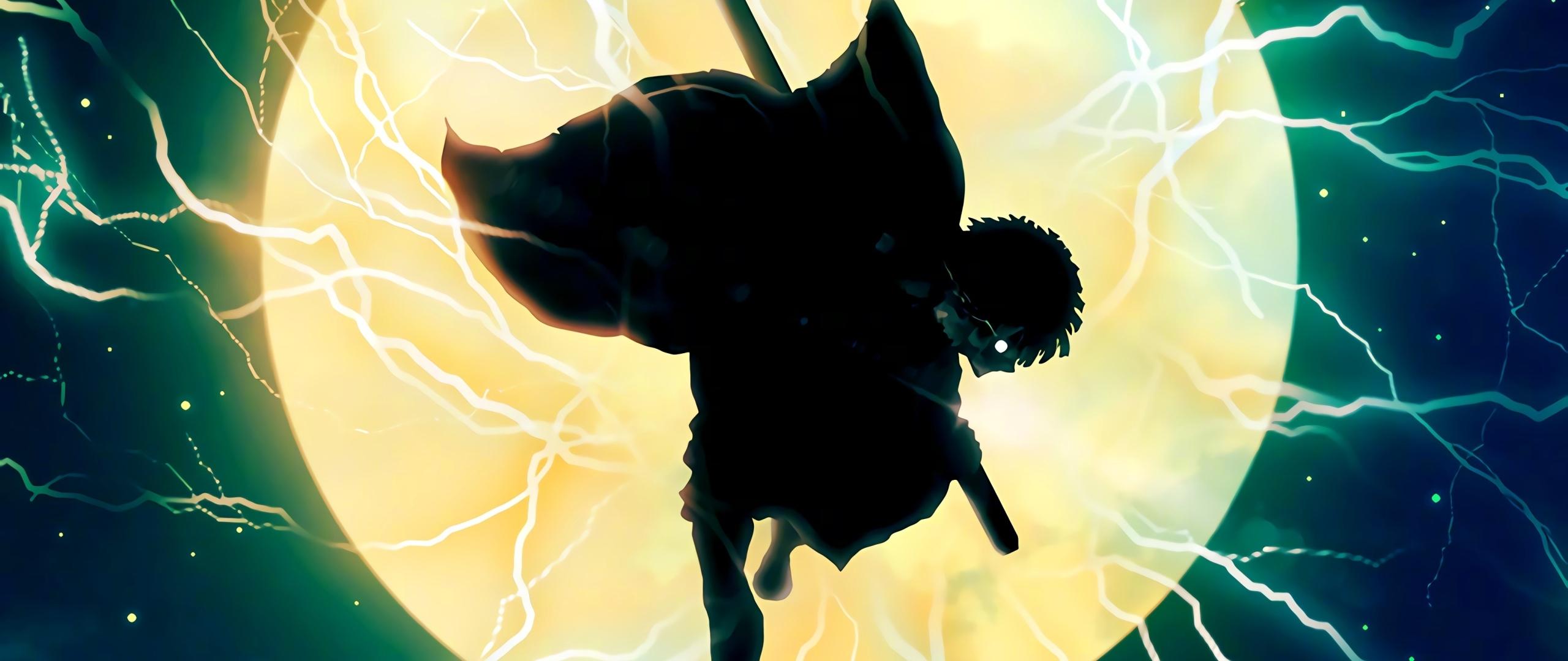 2560x1080 Zenitsu Agatsuma Demon Slayer Art 2560x1080 ...