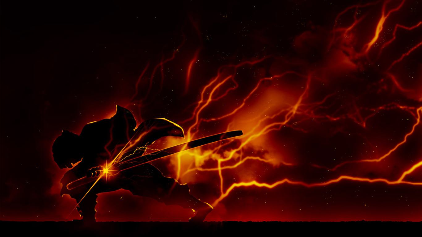 1366x768 Zenitsu Agatsuma Demon Slayer 1366x768 Resolution ...