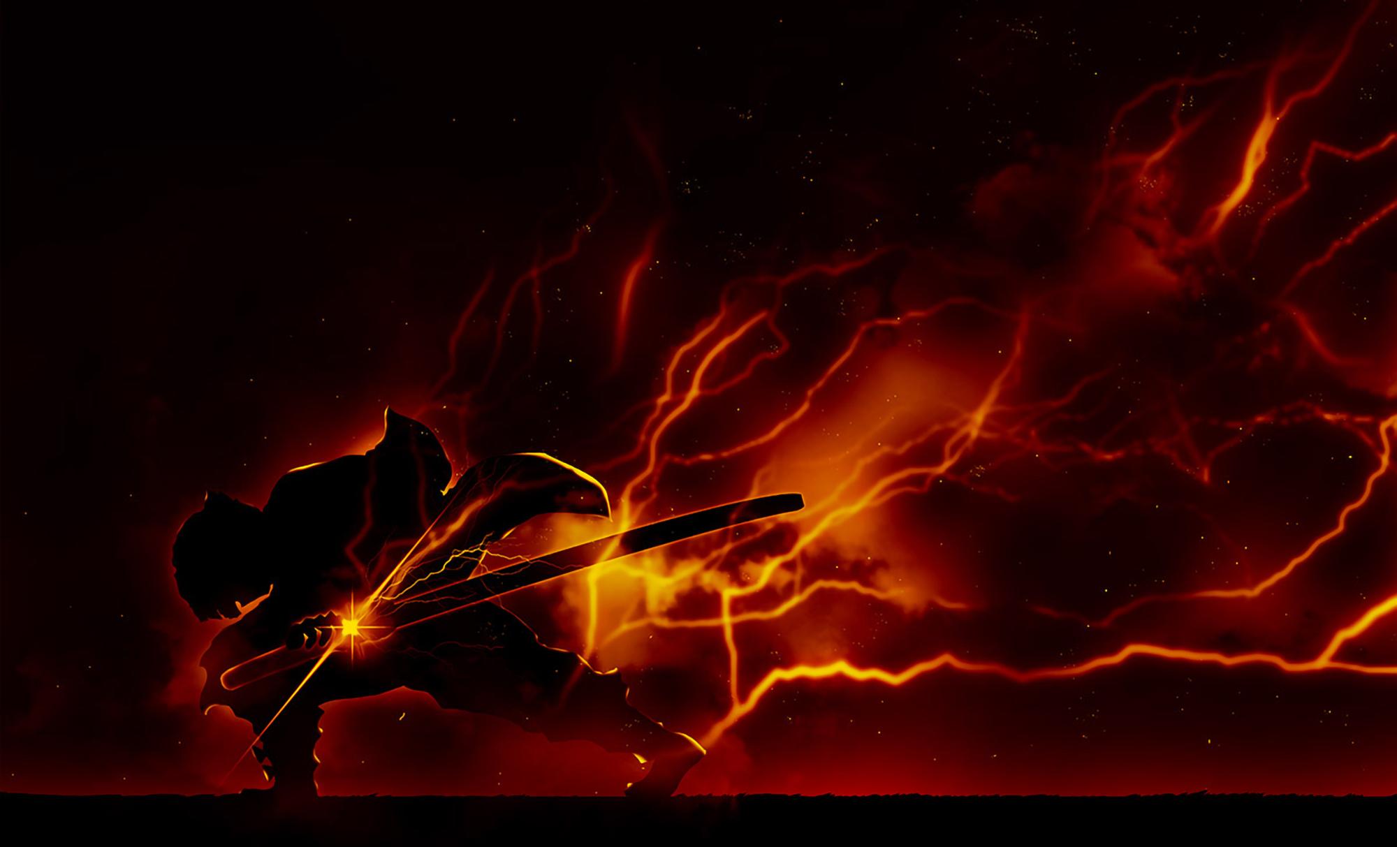 Zenitsu Agatsuma Demon Slayer Wallpaper, HD Anime 4K ...