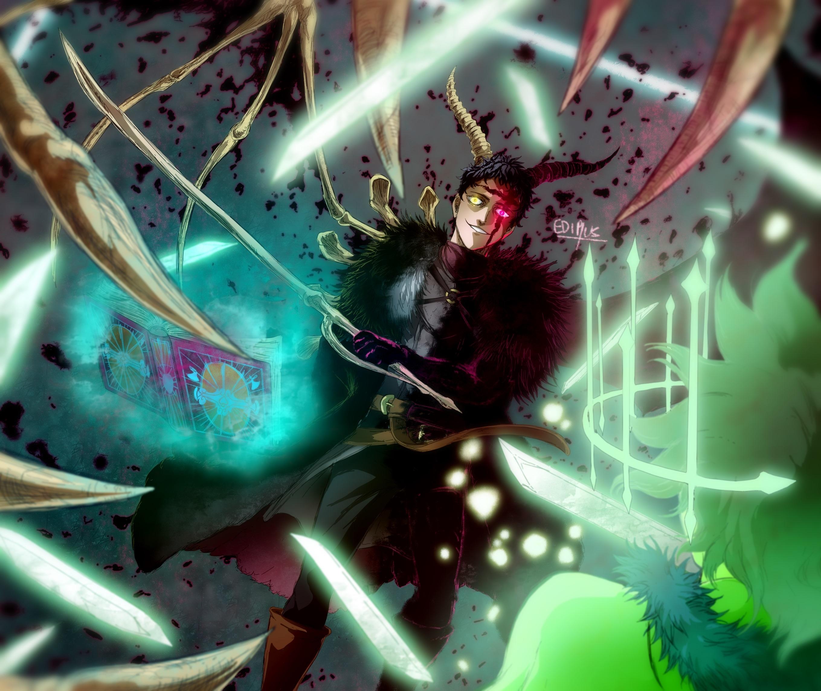 Zenon from Black Clover Wallpaper, HD Anime 4K Wallpapers ...