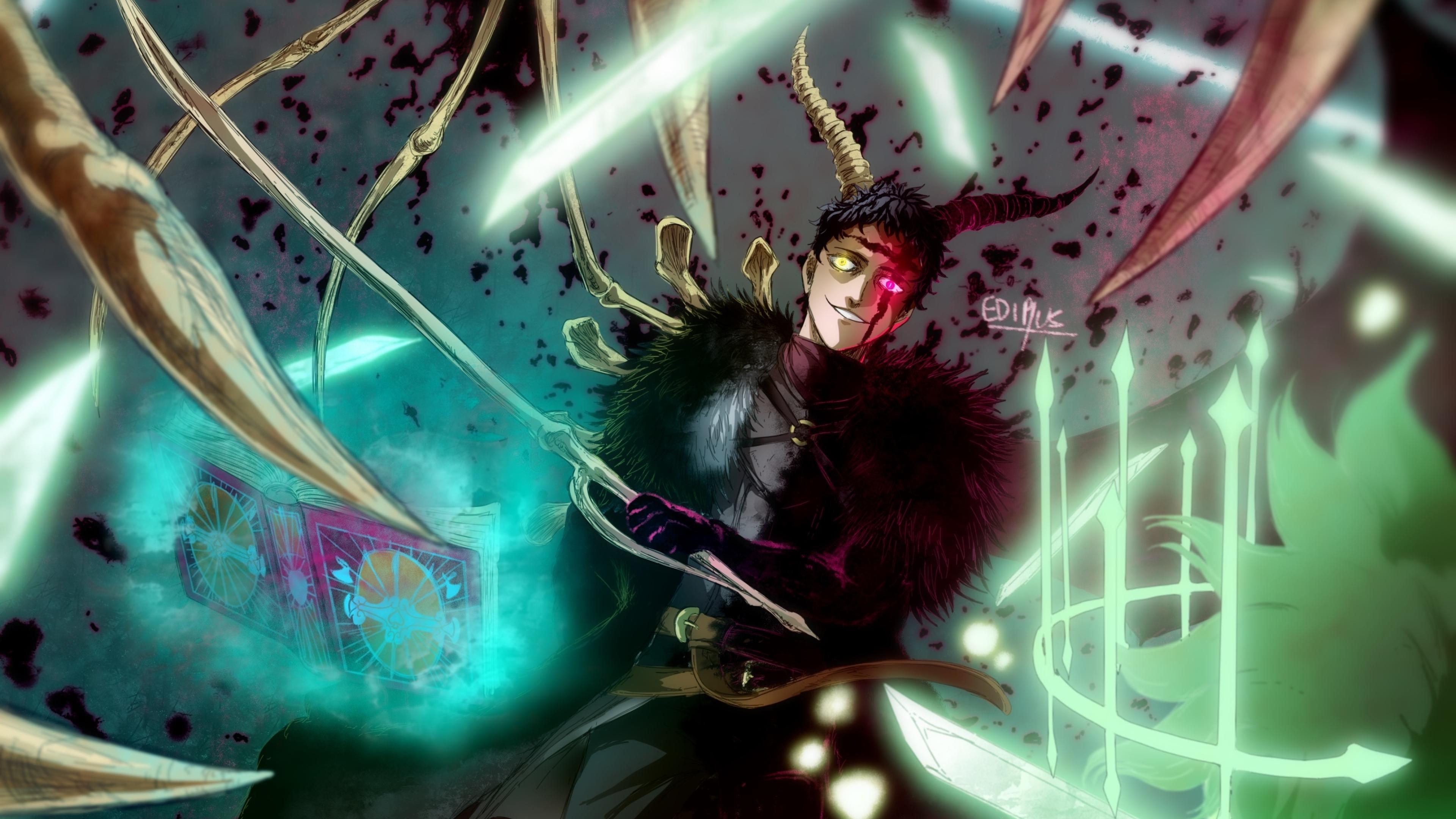 3840x2160 Zenon from Black Clover 4K Wallpaper, HD Anime ...