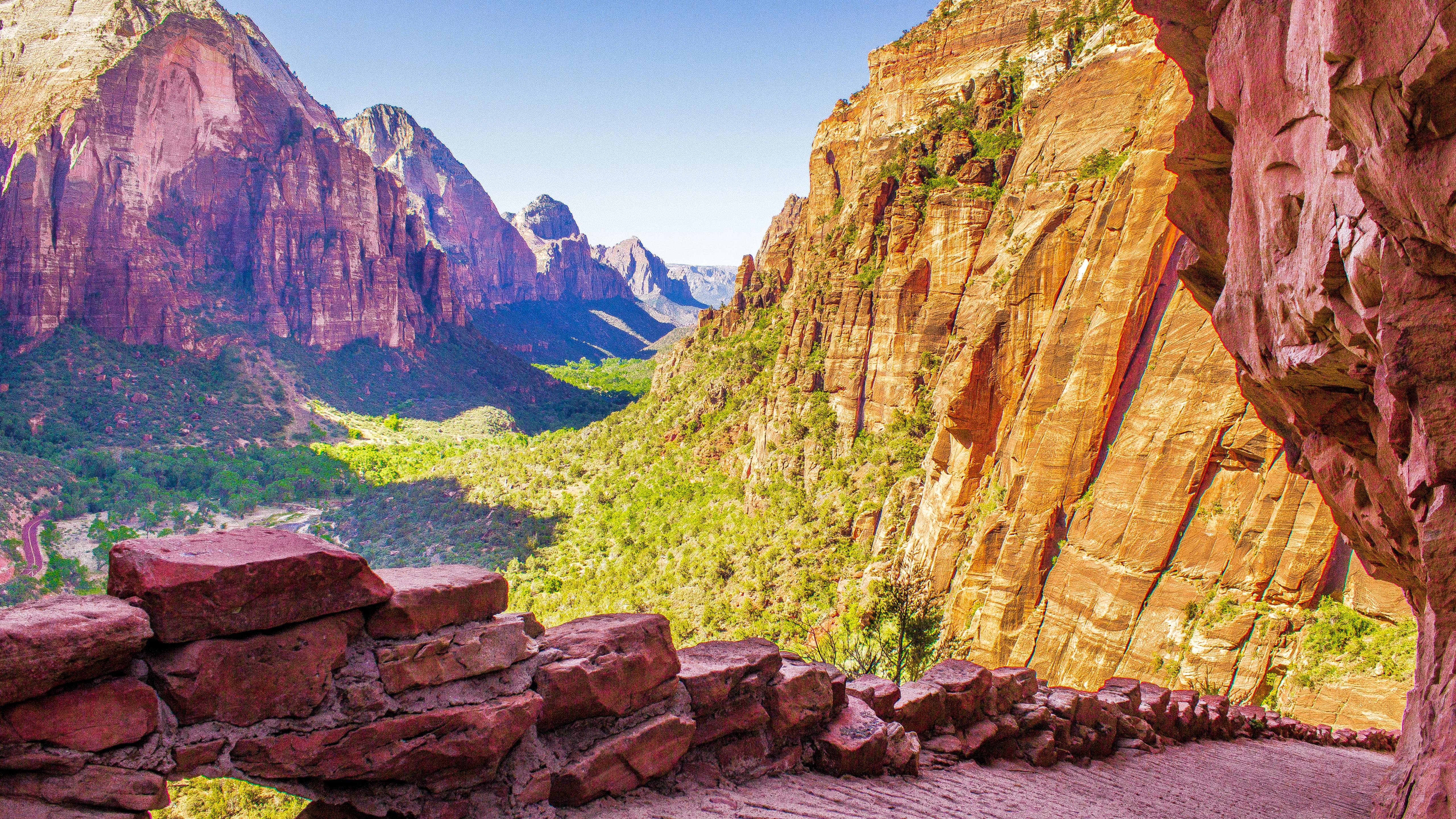 5120x2880 Zion National Park Utah Usa 5k Wallpaper Hd Nature 4k
