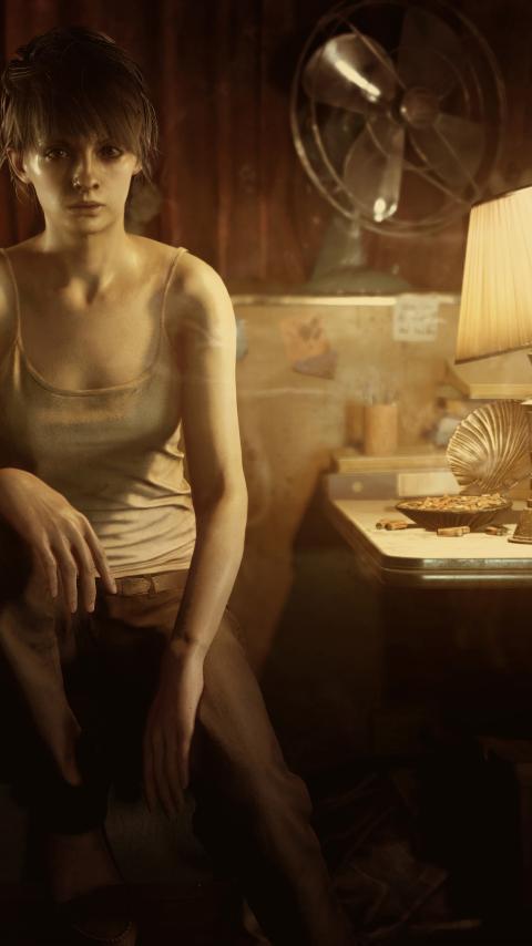 480x854 Zoe Baker Resident Evil 7 Biohazard Android One Mobile