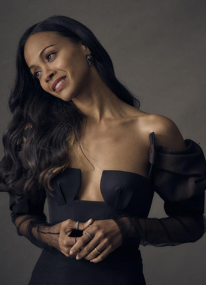 Zoe Saldana 2018, Full HD 2K Wallpaper