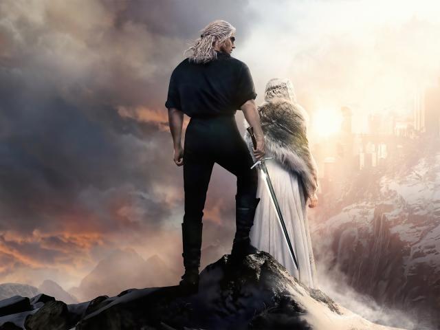 4K The Witcher Season 2 Poster wallpaper