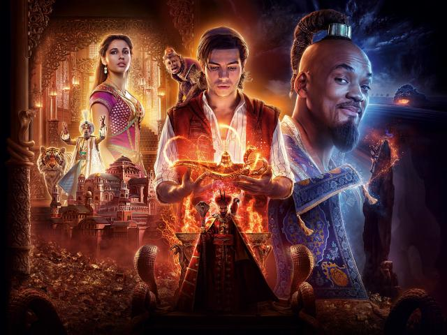 Movie Poster 2019: Aladdin 2019 Movie 4K 6K Wallpaper, HD Movies 4K