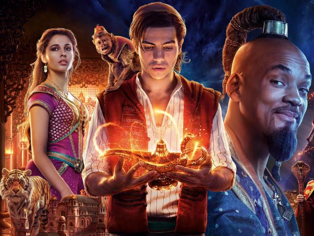 Movie Poster 2019: Aladdin Movie 2019 Wallpaper, HD Movies 4K Wallpapers