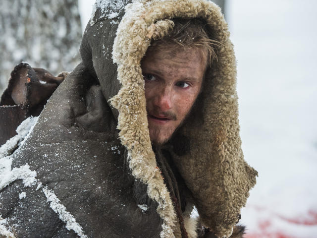 Alexander Ludwig as Bjorn Lothbrok Vikings wallpaper