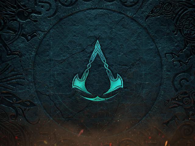 HD Creed Valhalla Assassins Games Logo  4K Wallpaper,