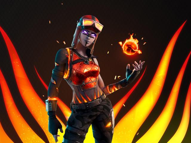 Blaze Fortnite wallpaper