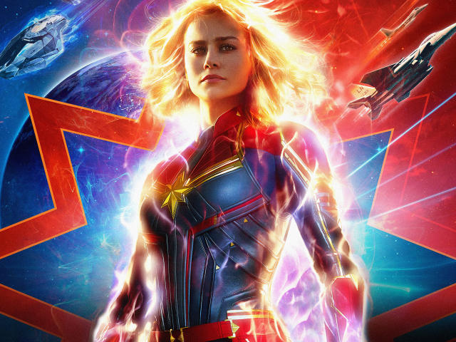 Official Movie Posters 2019: Captain Marvel 2019 Official Poster Wallpaper, HD Movies