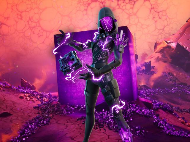 Cube Assassin Fortnite wallpaper