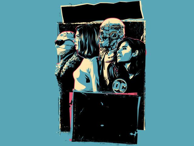 Doom Patrol 2 Poster wallpaper