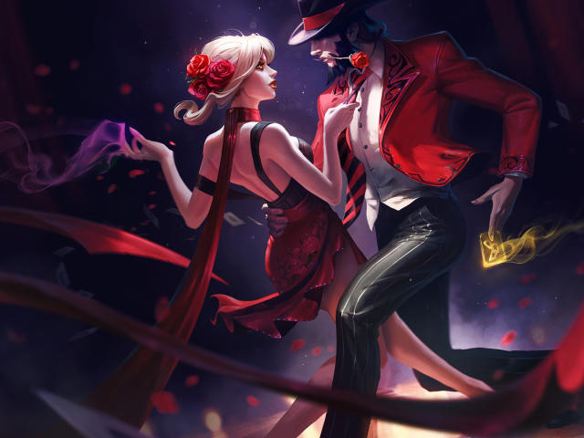 Evelynn And Twisted Fate League Of Legends Wallpaper, HD ...