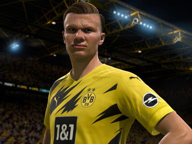 FIFA 21 Erling Braut Haland Wallpaper, HD Games 4K ...