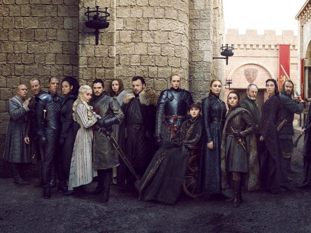 1920x1200 Game of Thrones 2019 Full Cast 1200P Wallpaper ...