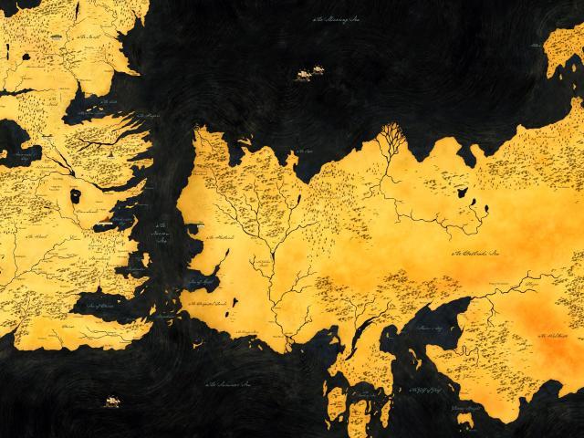 Game Of Thrones Map Hd Wallpaper Wallpaper, HD Movies 4K