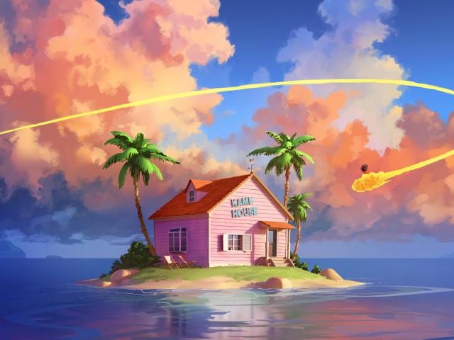 Kame House Dragon Ball Z Wallpaper, HD Artist 4K ...