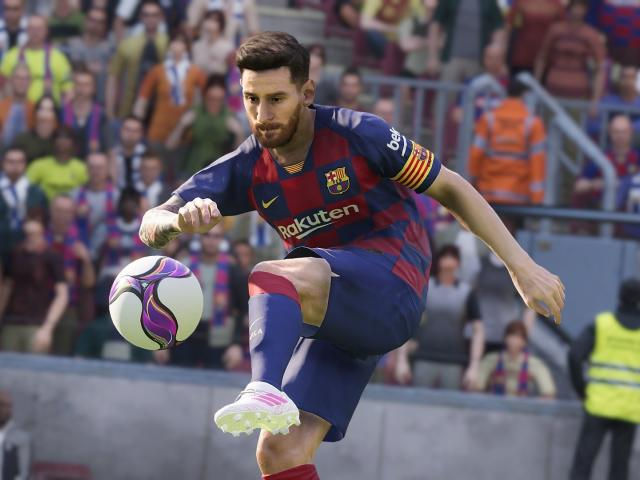 Lionel Messi In Efootball Pes 2020 Wallpaper Hd Games 4k Wallpapers Images Photos And Background