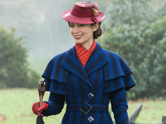 Mary poppins returns 2019 movie wallpaper hd movies 4k - Mary poppins wallpaper ...