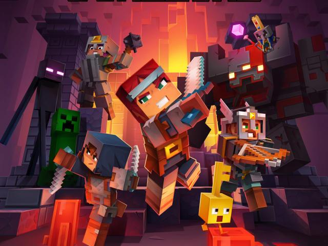 Minecraft Dungeons Wallpaper, HD Games 4K Wallpapers