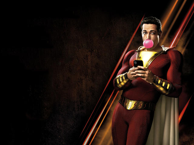 Movie Poster 2019: Shazam Movie Poster Wallpaper, HD Movies 4K Wallpapers