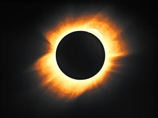 1919 Solar Eclipse wallpaper