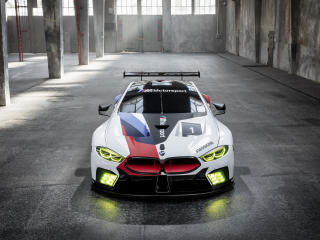 2018 BMW M8 GTE wallpaper