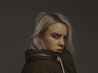 2019 Billie Eilish 4K wallpaper