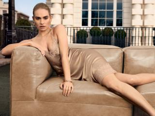 2019 Lily James Photoshoot wallpaper