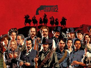 2019 Red Dead Redemption 2 Game wallpaper
