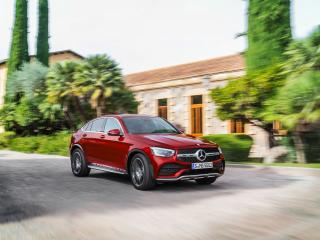 2020 Mercedes-Benz GLC300 Coupe wallpaper