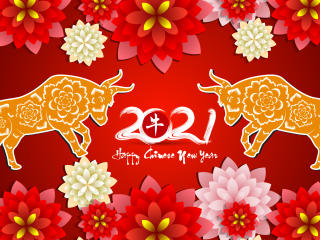 2021 Chinese New Year wallpaper