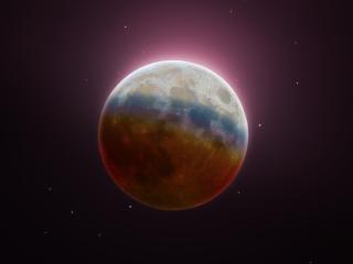 2021 Lunar Eclipse Moon wallpaper