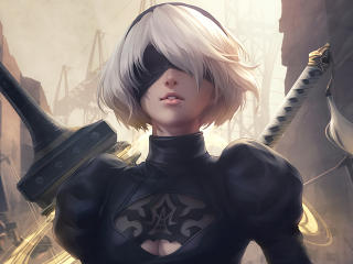 2b Nier Automata wallpaper