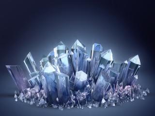 3d, crystal, crystals wallpaper