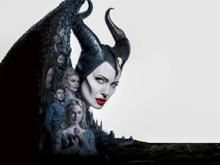 4K 8K Poster Of Maleficent 2 wallpaper