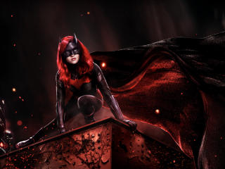 4K Batwoman wallpaper